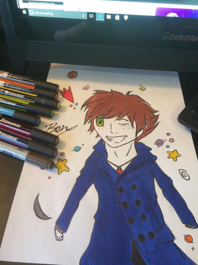 Manga Character Design by BenjisArt