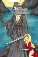 Gandalf The Amazing by AzurineDreams