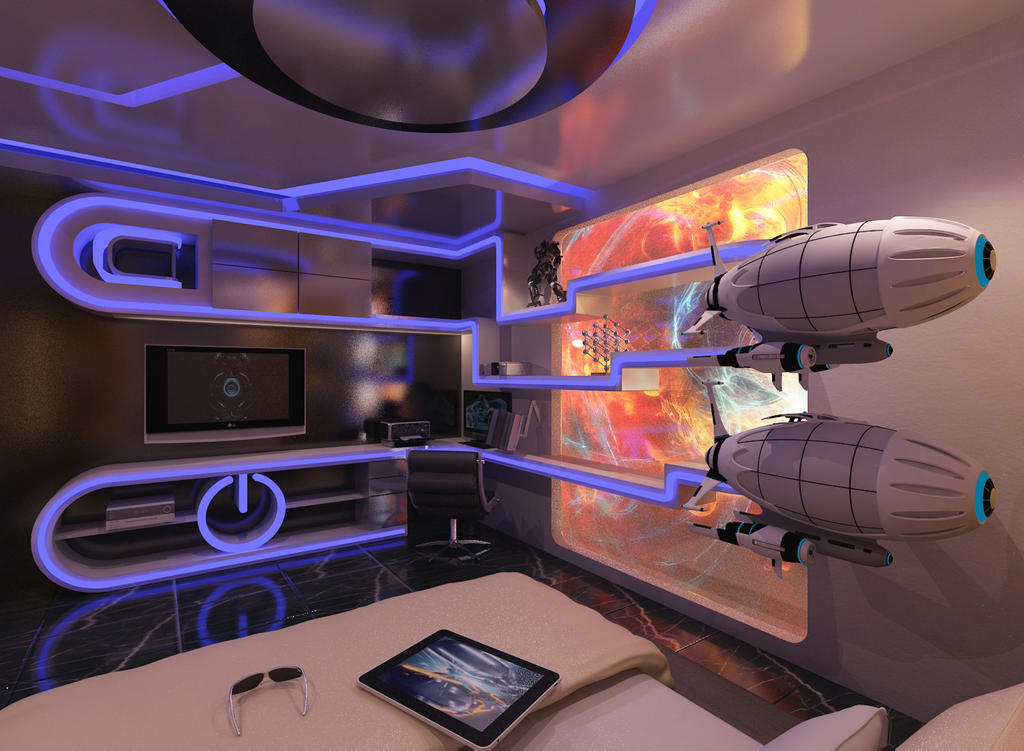 Futuristic Room Design