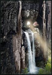 finally: the waterfalls with the magic tree by MatzeR