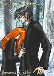 Lily x Severus by Enide-Kant