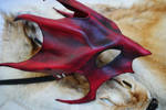 Ruby Great Dragon Mask - Side