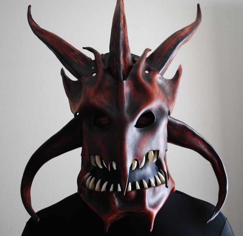 Dragon King Helm - Front by Epic-Leather