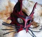Hi No Neko Leather Mask