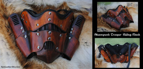 Steampunk Trooper Mask