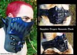 Sapphire Dragon Assassin Mask