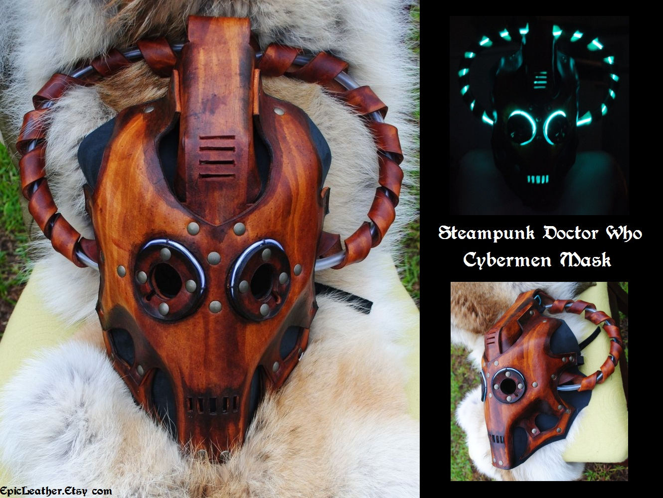 Steampunk Doctor Who Cybermen by Epic-Leather