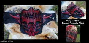 Ruby Dragon Assassin Mask