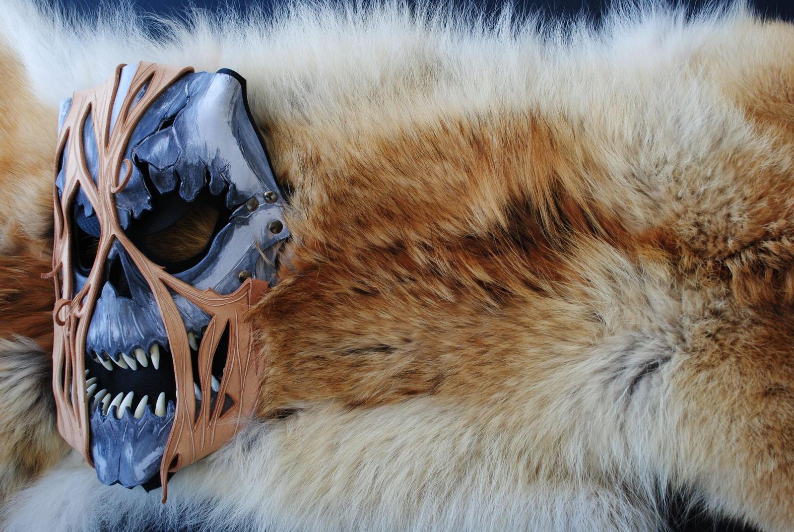 Akuma Zombie Leather Mask 2