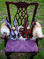 Leather Spliced Bunny Twins by Epic-Leather