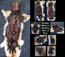 Dragon Slayer: Arm of Fury by Epic-Leather