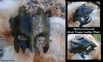 Shattered Emerald Dragon Mask