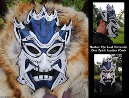 Avatar: Blue Spirit Mask by Epic-Leather