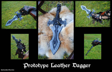 Protype Leather Dagger by Epic-Leather