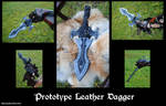 Protype Leather Dagger