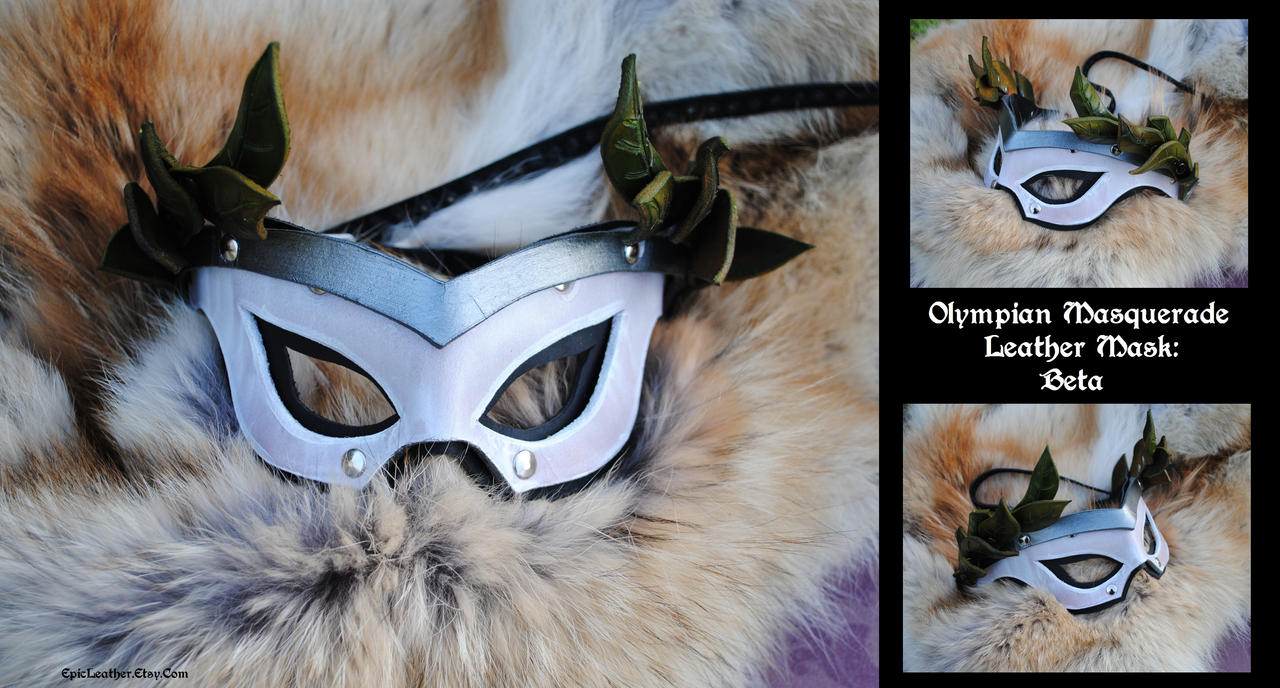 Olympian Masquerade Mask B by Epic-Leather