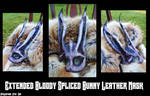 Extended Bloody Spliced Bunny Mask
