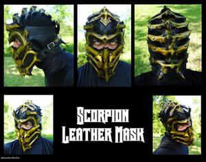 MK Scorpion Leather Mask