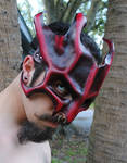 Ruby Great Dragon Leather Mask Lvl.2