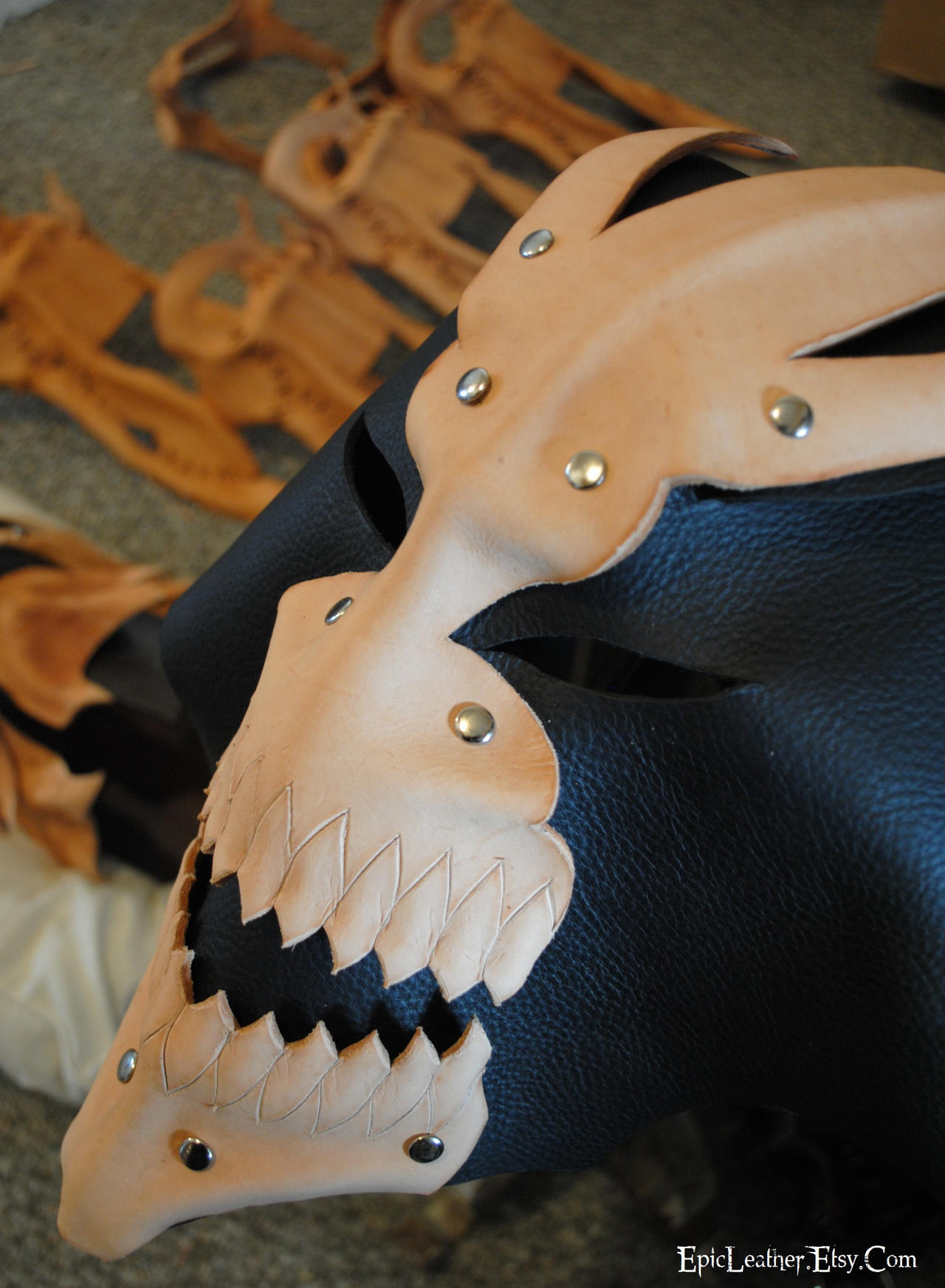 Leather Hollow WIP by Epic-Leather