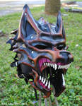 Commission: Dire Wolf Helm