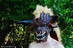 Leather Minotaur Mask