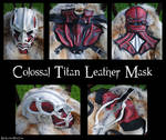 Attack On Titan: Colossal Titan Leather Mask