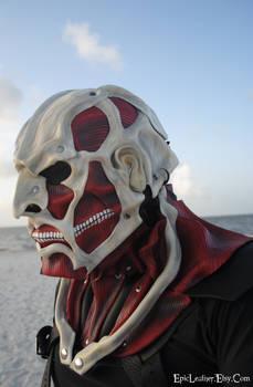 Colossal Titan Leather Mask: Attack on Titan