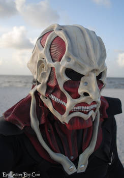 Colossal Titan Leather Mask