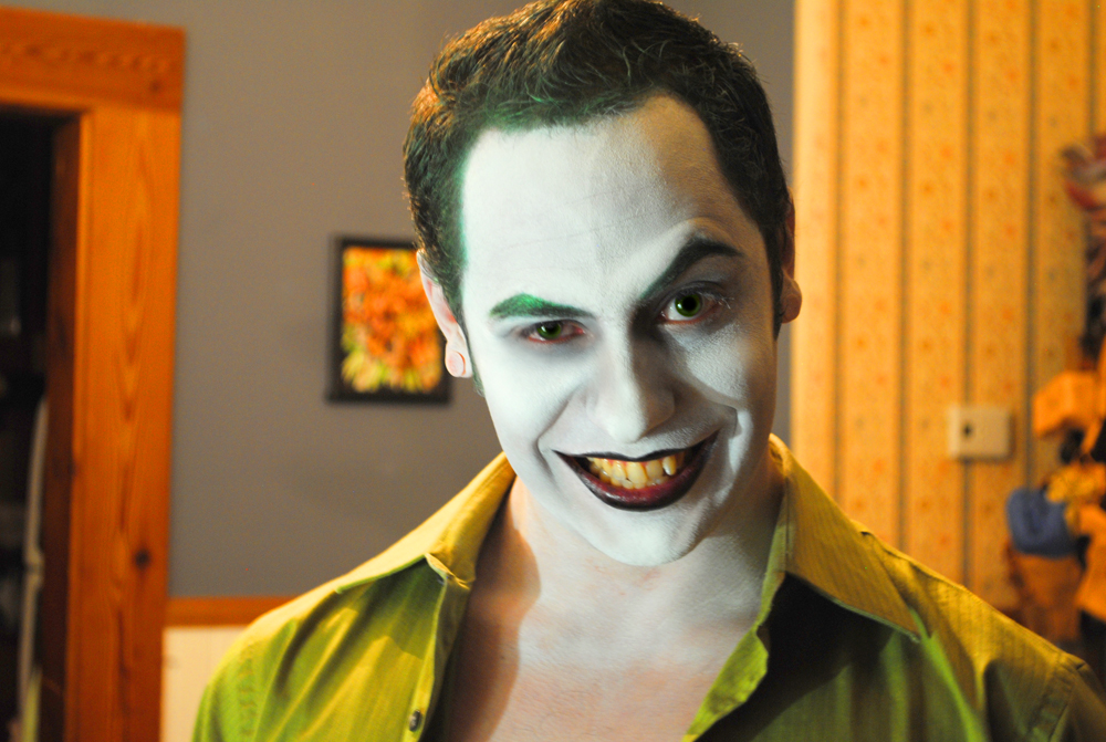 Joker Makeup Test #1 by Epic-Leather