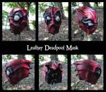 Full Leather Deadpool Mask