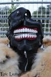 Tokyo Ghoul Ken Kaneki's Eyepatch Leather Mask