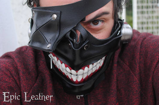 Tokyo Ghoul Eyepatch Leather Mask - Smile