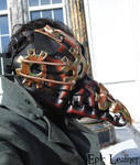 Steampunk Plague Doctor Mask - Profile