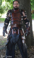 SCA Heavy Combat Leather Armor Kit - Front