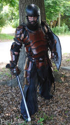 SCA Heavy Combat Leather Armor Kit - Full Set by Epic-Leather