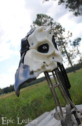 Leather Avian Plague Doctor Mask