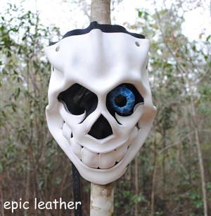Bad Time Sans Leather Mask