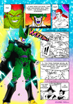 DBM page 617 (Perfect Cell charging up) colored