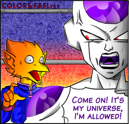 Freeza page 545 colored