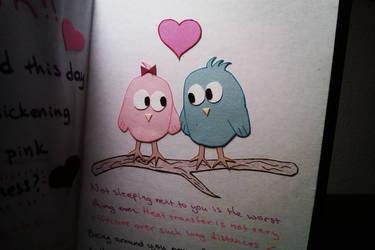 V-day love birds 1
