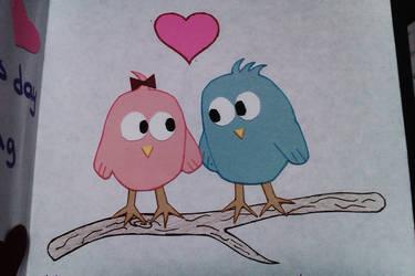 V-day love birds 2