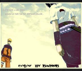 The fate of Naruto and Sasuke by YEAHDESY