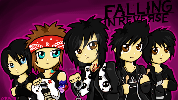 .:Falling in Reverse:. by mako--eyes