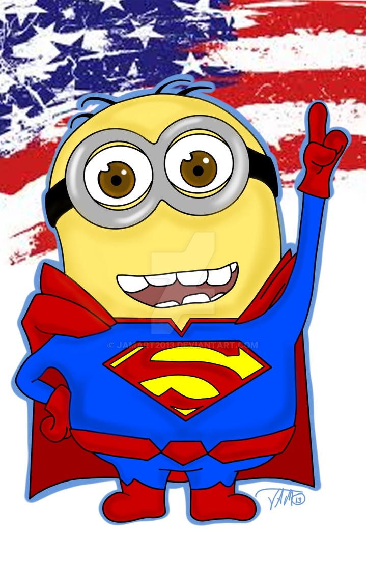 Minion Superman Minion Superman by Jamart2013