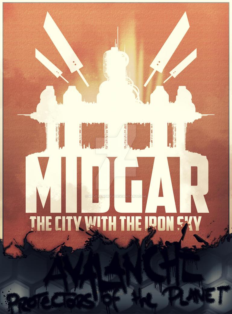 Final Fantasy VII - Midgar Avalanche Propaganda by ReverendRyu