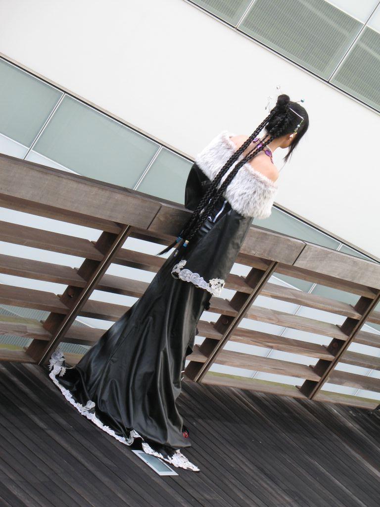 FFX Lulu cosplay backview by lunaEnGrey