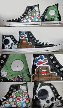 Shoes of a Hardcore Fan
