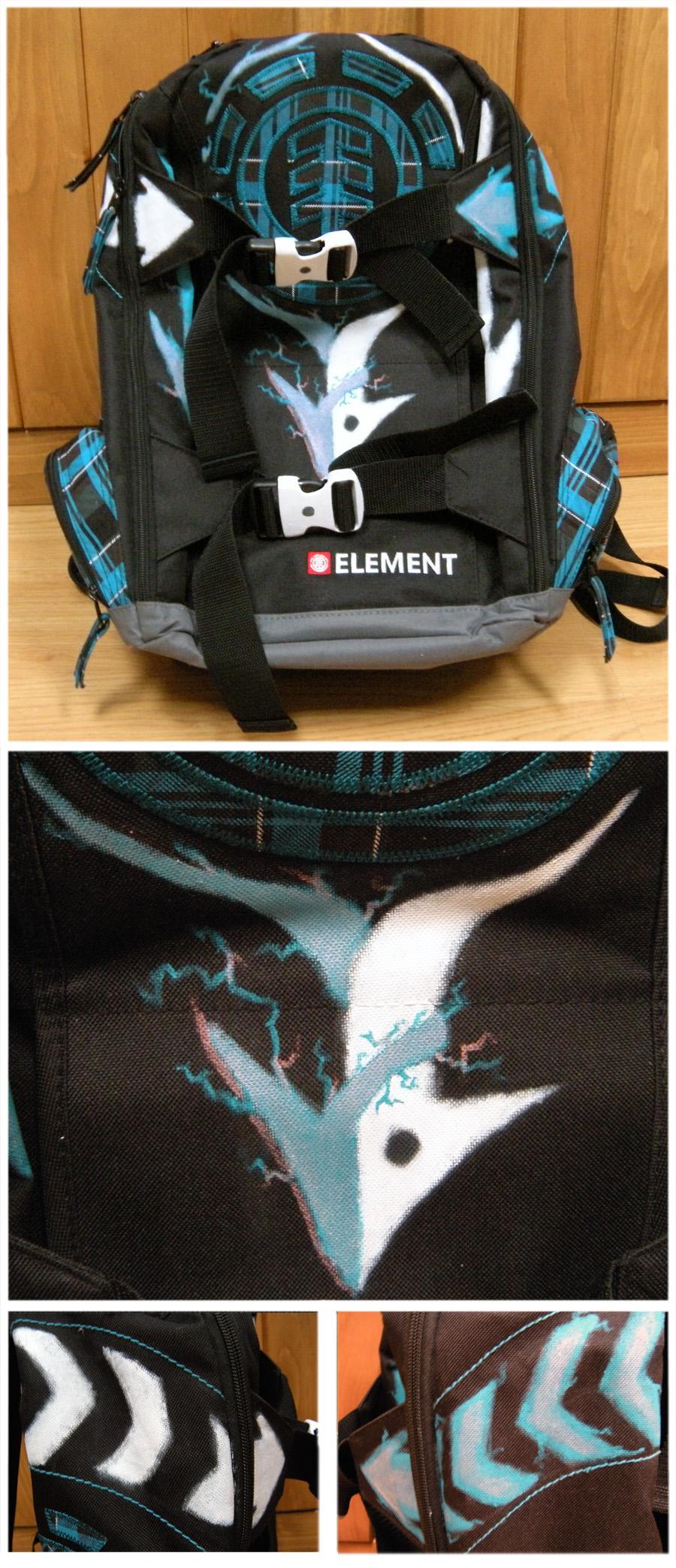 Dichomotic Arrows Backpack by Sintitiks