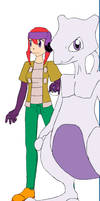Elizabith And Mewtwo by cookietime88